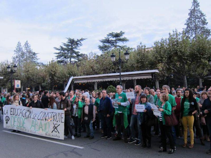El Sindicato de Estudiantes cifra en un 85% el seguimiento de la huelga que Educación califica de «irrelevante»