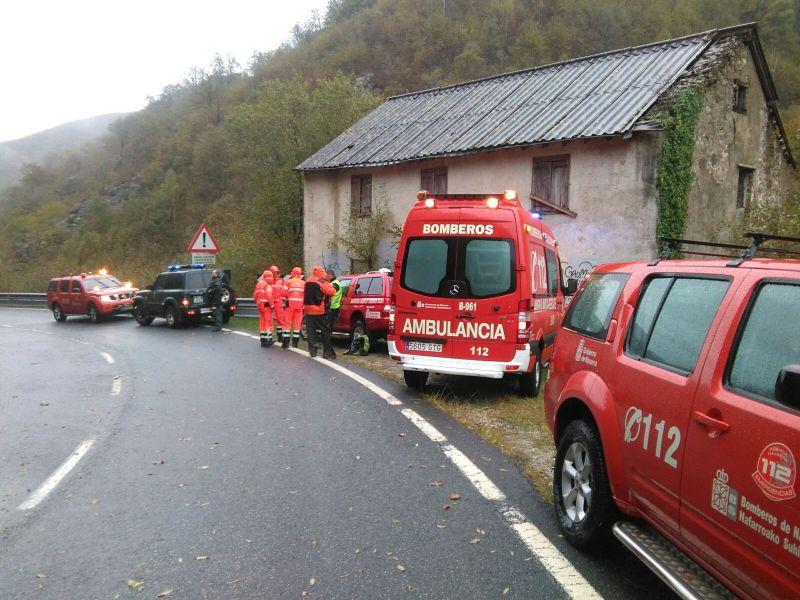 Localizan muerto al peregrino perdido en Navarra junto a otro rescatado