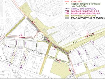 Nuevos planes urbanísticos para los ensanches pamploneses