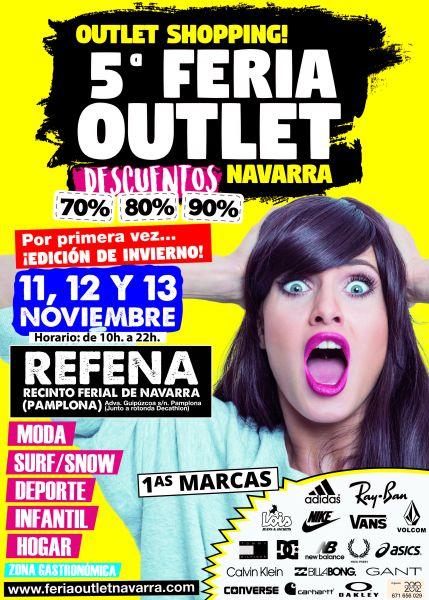 La edición de invierno de la Feria Outlet Navarra abre en Pamplona