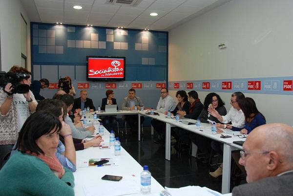 """El PSN valora positivamente el acuerdo alcanzado con el convenio y señala que Navarra es """"solidaria con España"""""""