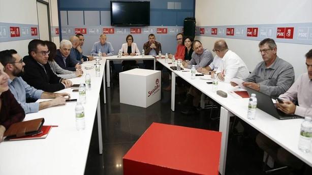 La Ejecutiva del PSN apuesta por una Cataluña dentro de España y apoya la reforma constitucional