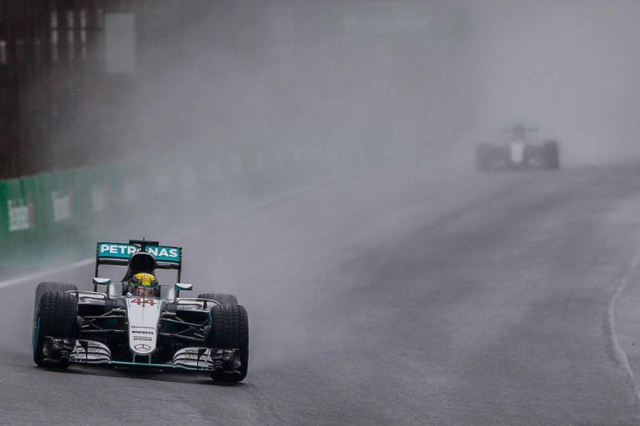 Segunda reanudación del lluvioso Gran Premio de Brasil en Interlagos