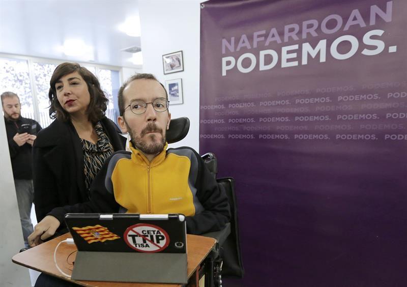 Echenique avisa a parlamentarios de Podemos Navarra que se deben al proyecto