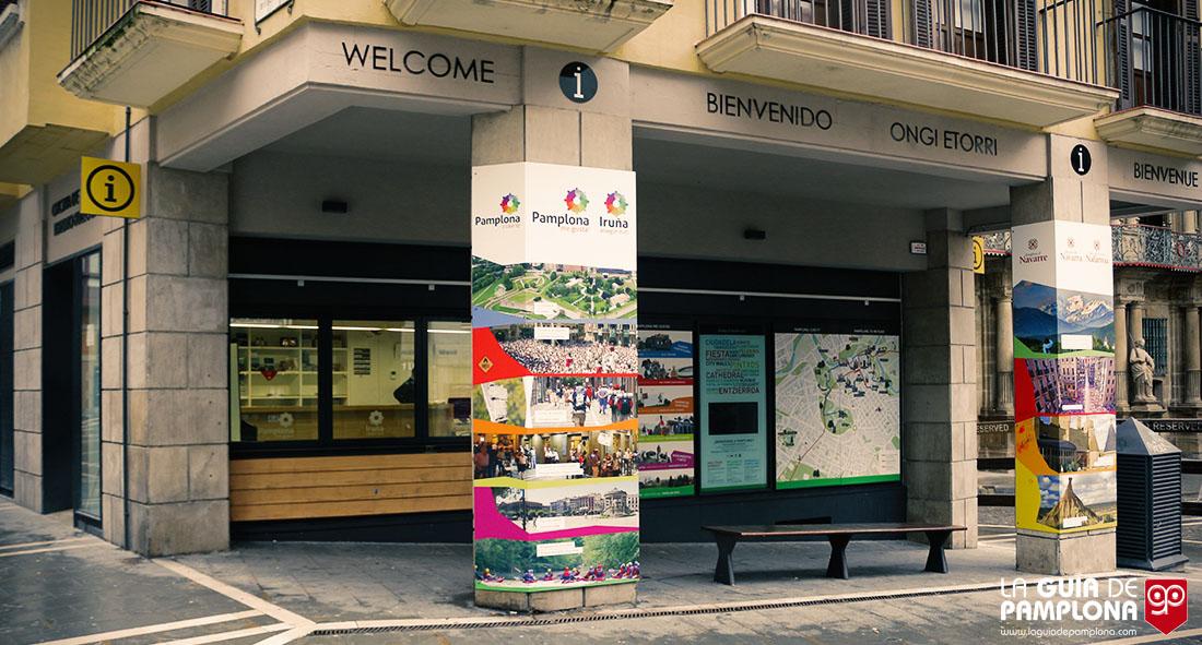 Más de 129.800 personas pasaron el año pasado por la Oficina de Turismo de Pamplona