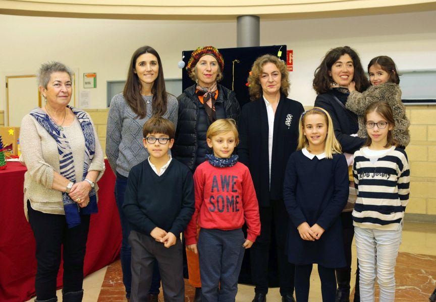 REd Civivox de Pamplona entrega los premios de adornos navideños