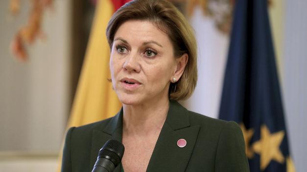 Cospedal reitera que las Fuerzas Armadas defenderán la soberanía nacional