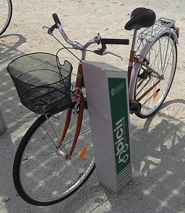 Pamplona suma 330 nuevas plazas de aparcamientos para bicicletas en la ciudad durante este año