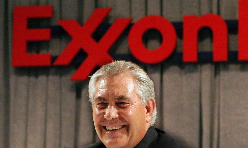 Trump elige a Rex Tillerson, directivo de ExxonMobil, como secretario de Estado