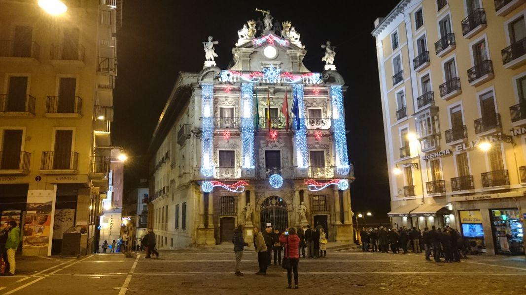 Pamplona enciende mañana sus luces de Navidad