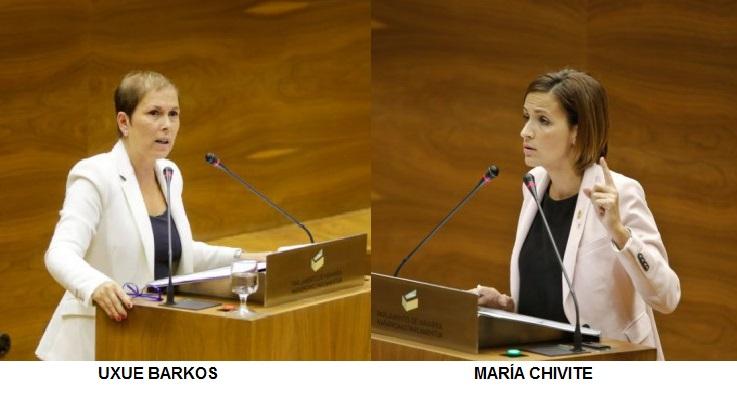 Navarrómetro: Uxue Barkos la más valorada y María Chivite la parlamentaria más conocida