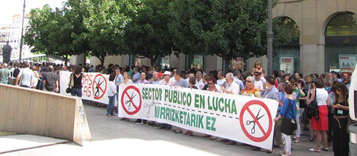 El Gobierno de Navarra abonará el 50% restante de la paga extra de diciembre de 2012 antes del seis de enero