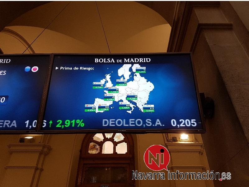 La prima de riesgo española sigue en 73 puntos básicos pese al alza del bono