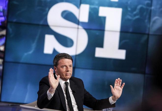 Renzi anima a la participación en el referéndum sobre la reforma constitucional en el que