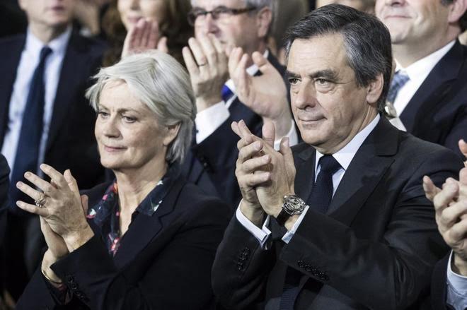 Fillon es formalmente imputado por los supuestos empleos ficticios del 'Penelopegate'