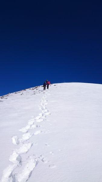 Alerta amarilla este sábado por nevadas en el Pirineo navarro