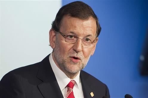 """Rajoy pide a los partidos """"reflexión"""" y subraya que los únicos culpables son quienes rompen """"la ley y la convivencia"""""""