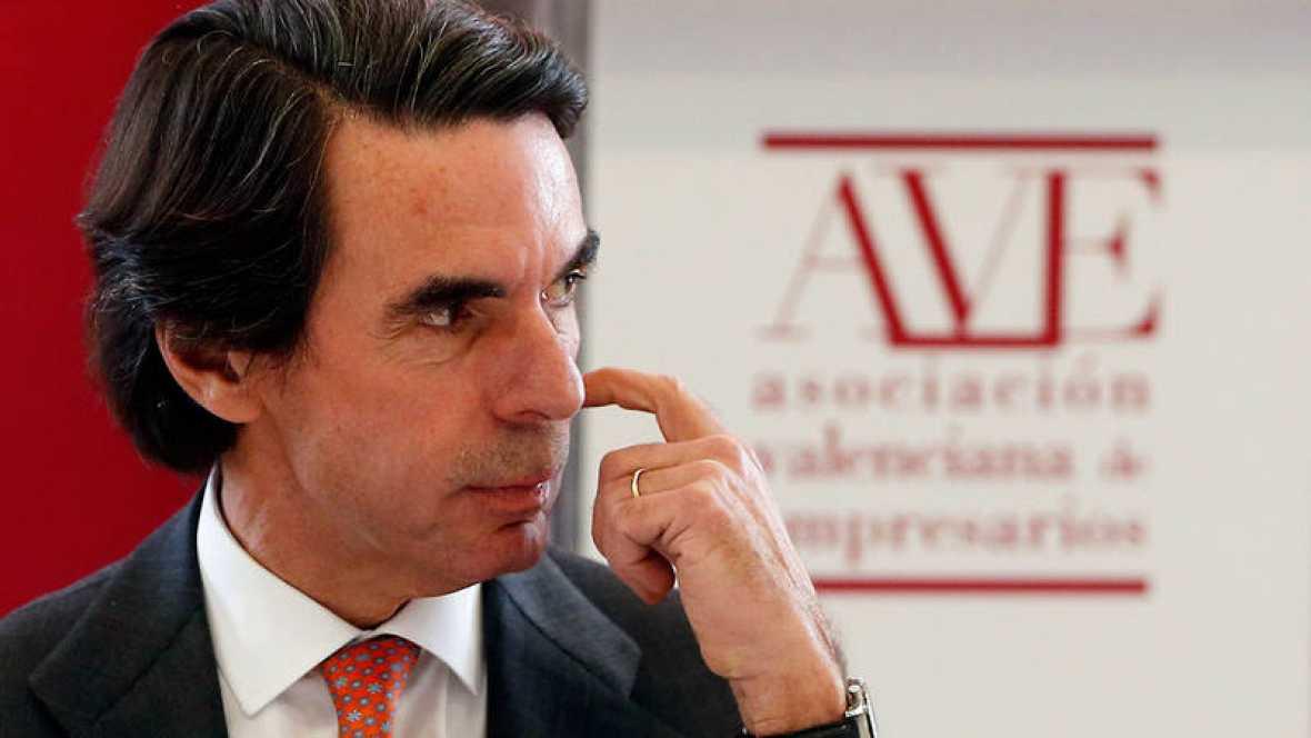 Aznar advierte contra los pactos para gastar más