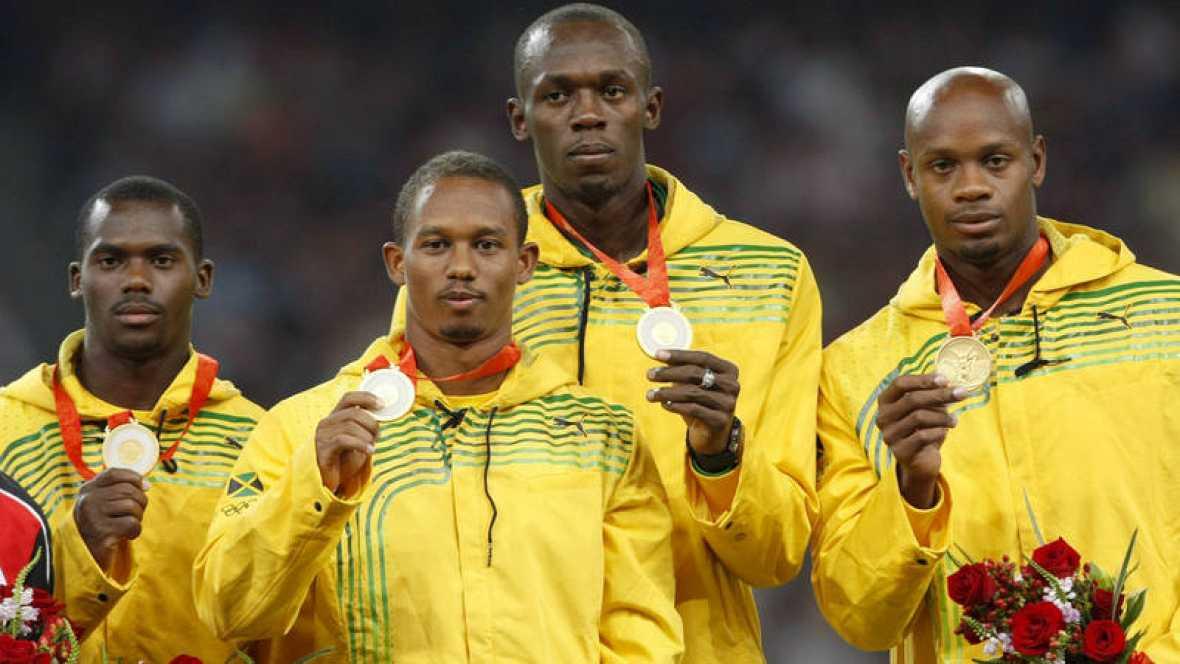 Carter descalificado en Pekín 2008, Bolt pierde un oro en relevos