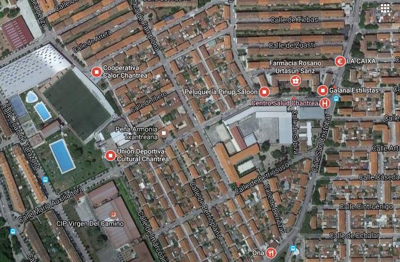 1, 7 millones de euros se destinarán para gastar en el barrio pamplonés de la Chantrea
