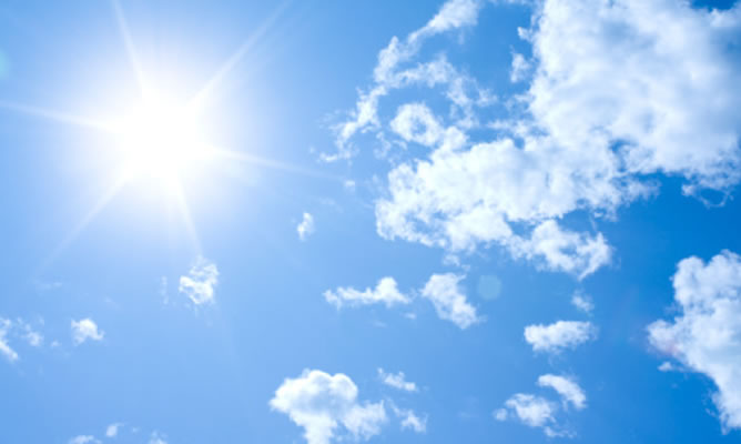 Sol y temperaturas suaves en el comienzo de la Semana Santa
