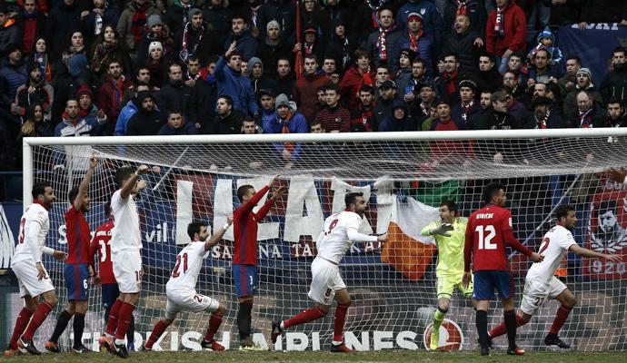 El Sevilla ganó doce de los últimos veinte partidos ante Osasuna