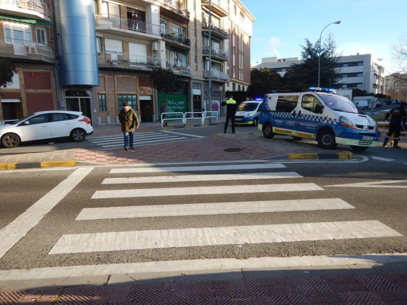 1566 pasos de peatones incumplen la nueva ordenanza municipal en Pamplona