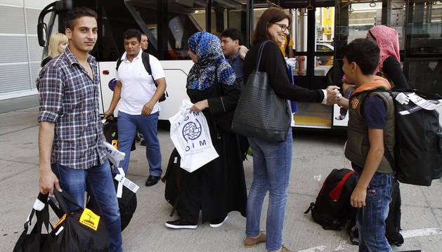 El Ayuntamiento de Pamplona cede cuatro viviendas en el barrio de la Milagrosa para acoger a personas refugiadas que pidan asilo en la ciudad