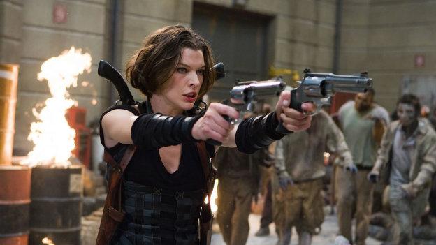 Mila Jovovich presenta en México la última película de 'Resident Evil'