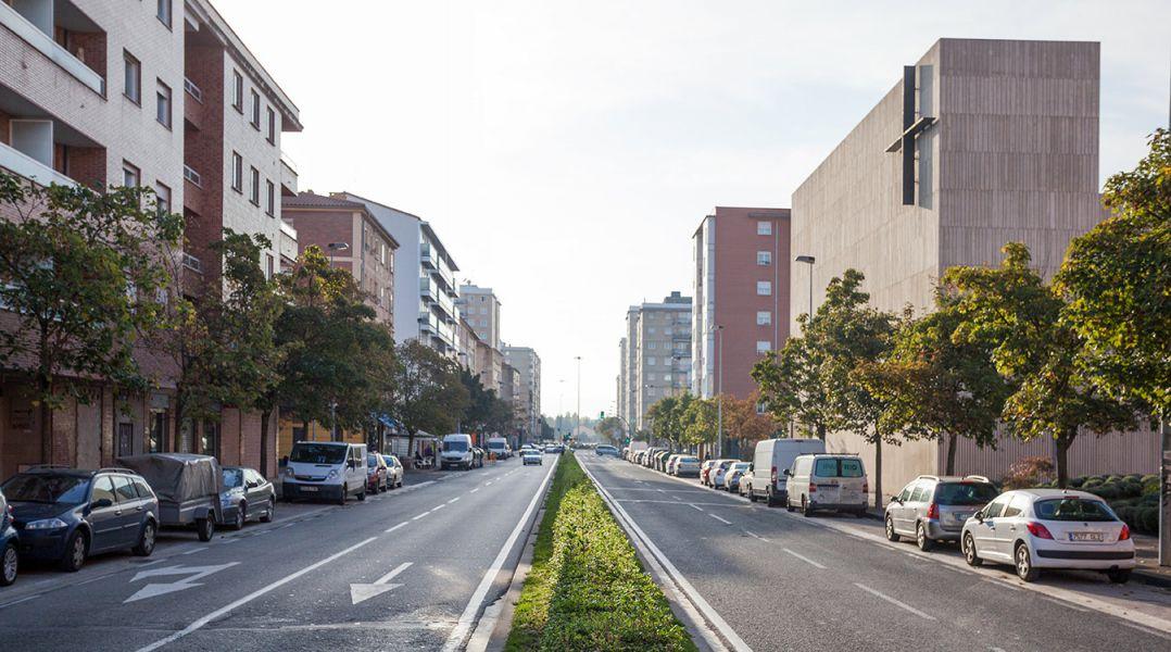 El barrio de San Jorge pamplonés acometerá una nueva urbanización