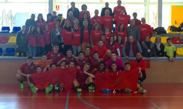 La Selección de Navarra de Balonmano, una de las mejores en el Campeonato de España