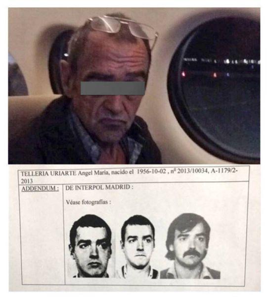 El etarra Ángel María Tellería, detenido en México pocos días antes de que sus delitos prescribieran