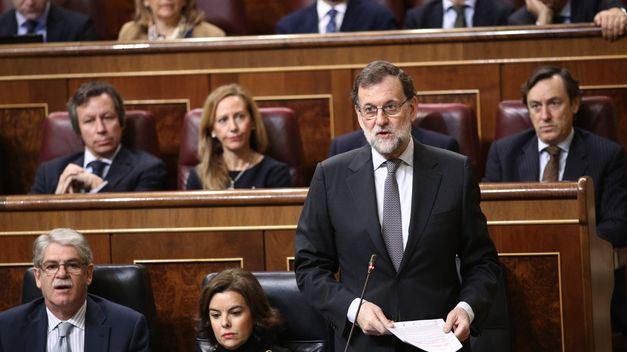 Rajoy a Rivera: No se equivoque de adversarios en Cataluña