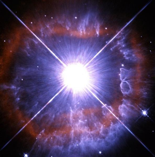 Espectacular pérdida de masa de la estrella AG Carinae