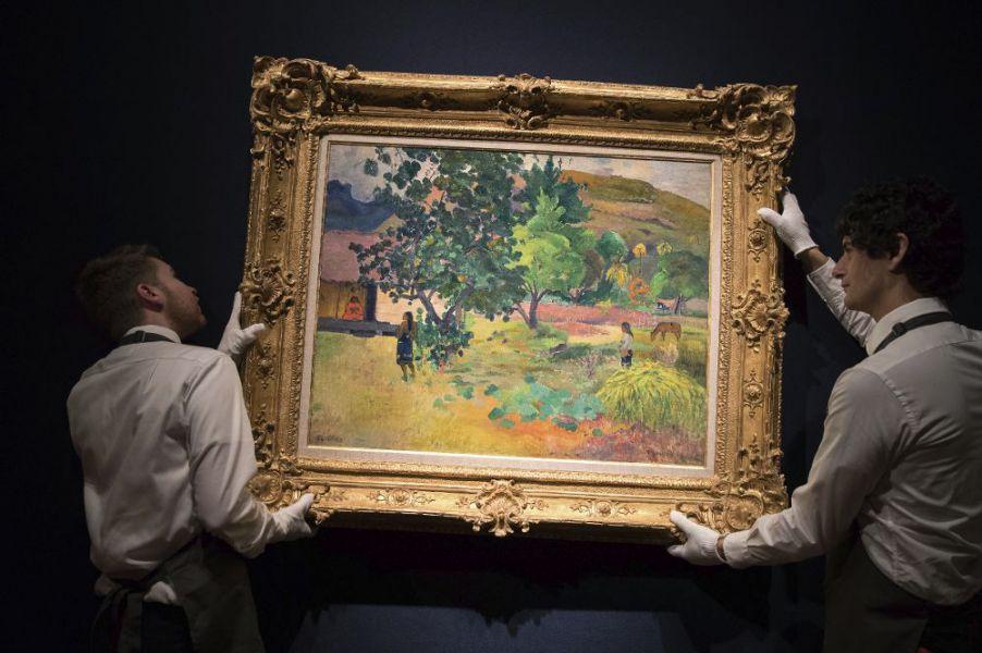 El paisaje de Gauguin