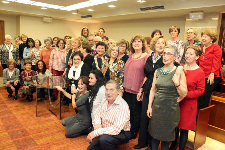 Homenaje del Colegio de Enfermería a los profesionales jubilados el año pasado