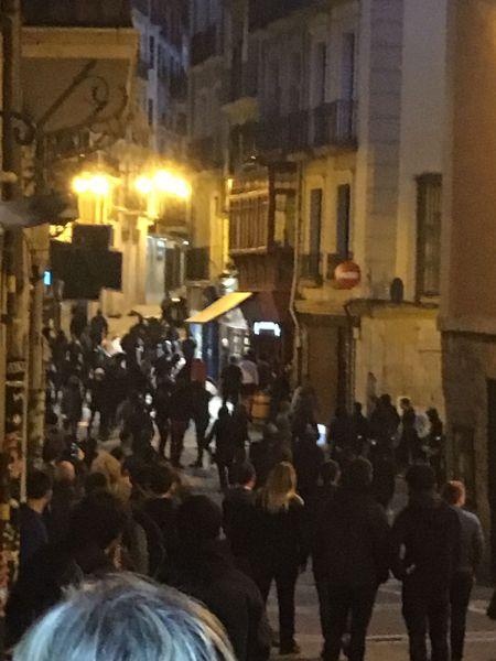 """""""Kale borroka"""" en Pamplona: Rechazo y condena de los partidos políticos"""
