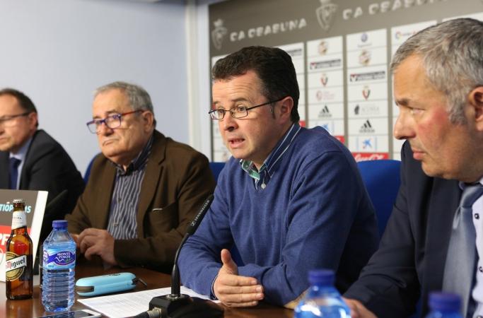 Dimite el vicepresidente y portavoz de Osasuna,  Alfonso Ramírez