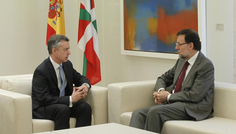 Urkullu pidió el martes a Rajoy que no se entorpezca el desarme de ETA