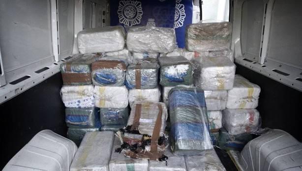 La Guardia Civil se incauta de 226 kilos de cocaína en Altea (Alicante)