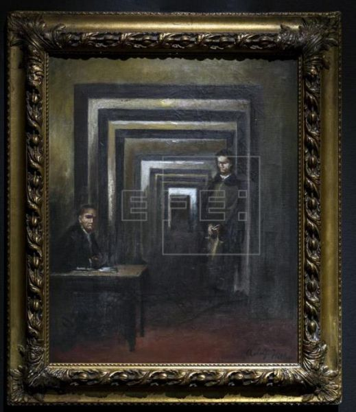 El Museo italiano de Salò presentará un cuadro desconocido de Adolf Hitler