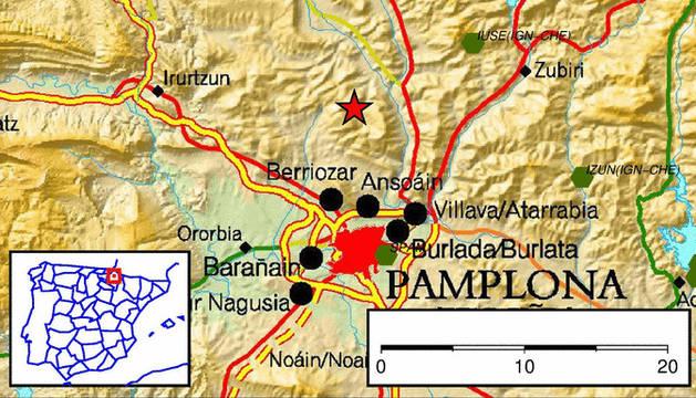 Un terremoto de 4 grados en Pamplona y Comarca, el mismo día, 114 años después