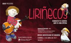 """AGENDA: 2 de abril, en Museo de Navarra, espectáculo """"Liriñecos"""""""