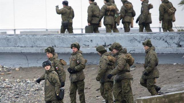 Seis militares rusos mueren en un ataque guerrillero a un cuartel en Chechenia