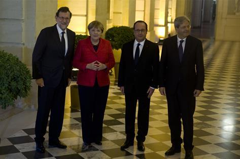 Rajoy respalda una Europa de varias velocidades en favor de la integración
