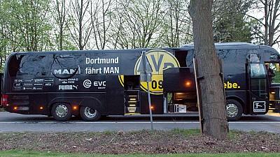 La Fiscalía acusa de intento homicidio al autor del ataque al autobús del Dortmund