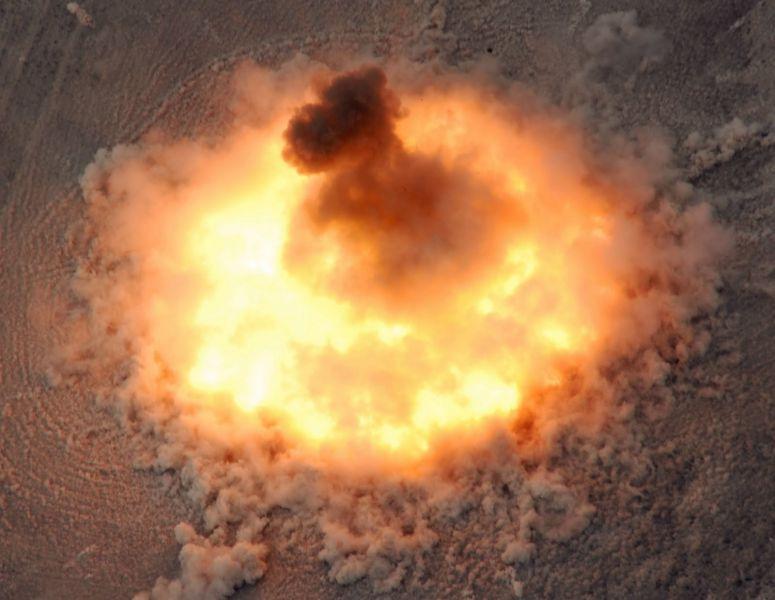 El Pentágono divulga el vídeo del lanzamiento de la