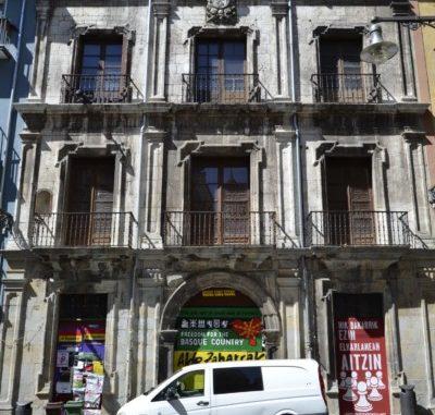 UPN de Pamplona insta al Gobierno foral a adecentar la fachada del Palacio del Marqués de Rozalejo