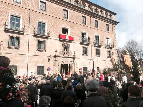 La Semana Santa arranca en Pamplona este Domingo de Ramos con la procesión de la Entrada de Jesús en Jerusalén