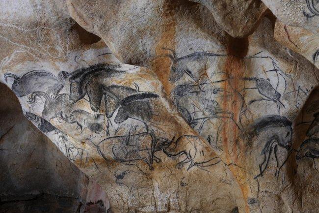 Carbón vegetal para las pinturas rupestres